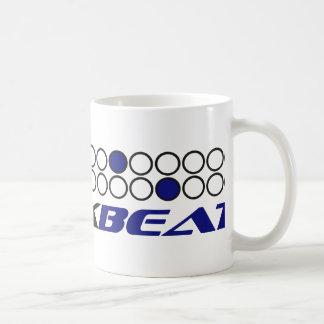 Breakbeat Music Production Pattern Coffee Mug