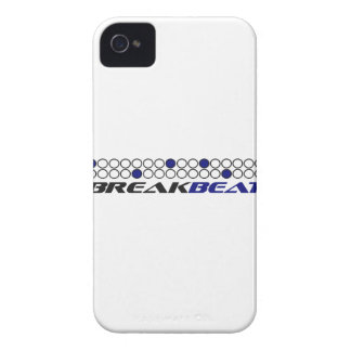 Breakbeat Music Production Pattern iPhone 4 Case-Mate Case