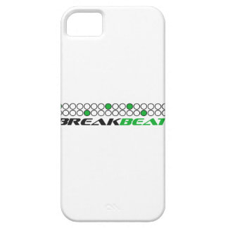 Breakbeat Music Production Pattern iPhone SE/5/5s Case