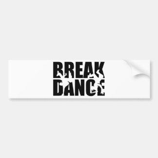 Breakdance Bumper Sticker