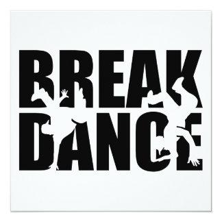 Breakdance Card