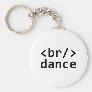 Breakdance Code Keychain