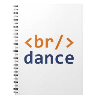 Breakdance Code Notebook