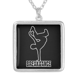 Breakdance custom color necklace