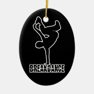 Breakdance custom color ornament
