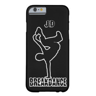 Breakdance custom monogram & color phone cases barely there iPhone 6 case