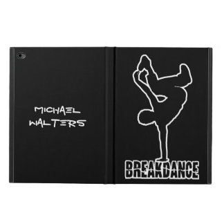 Breakdance custom name & color cases powis iPad air 2 case