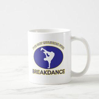 Breakdance dance design coffee mug