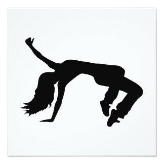 Breakdance girl card