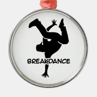 Breakdance Metal Ornament