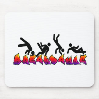 BREAKDANCE MOUSE PADS