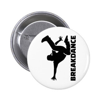 Breakdance Pinback Button