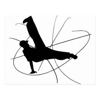 Breakdance Postcard