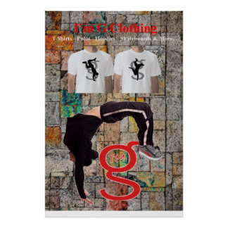 Breakdance Poster from I'm G Clothing