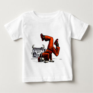 Breakdancer and Box Hip Hop Baby T-Shirt
