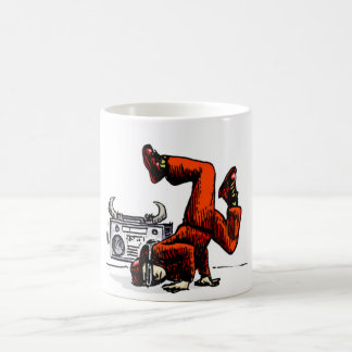 Breakdancer and Box Hip Hop Coffee Mug