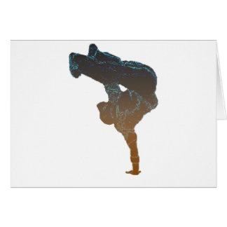 Breakdancer Card
