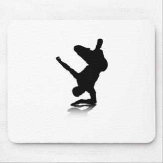 Breakdancer (en codo) tapete de ratón