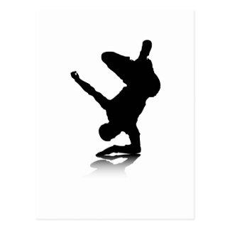 Breakdancer (en codo) tarjetas postales