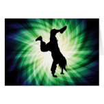 Breakdancer fresco felicitación
