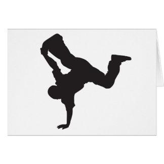 Breakdancer Greeting Card