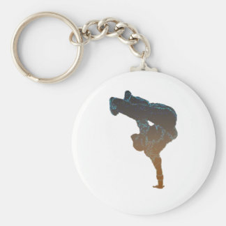Breakdancer Llavero Redondo Tipo Pin