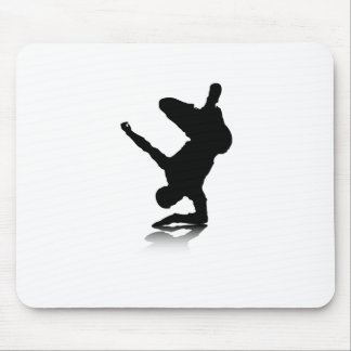 Breakdancer (on elbow) mouse pad