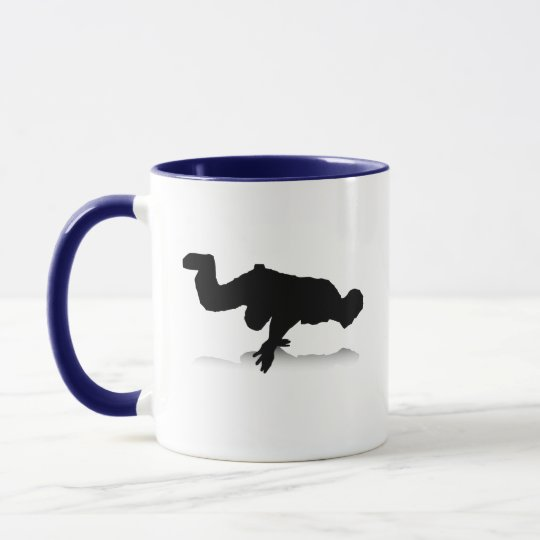 Breakdancer (on one hand) mug