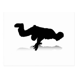 Breakdancer (on one hand) post cards