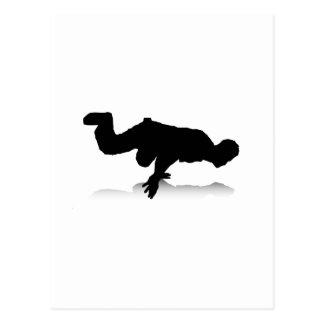 Breakdancer (por un lado) postal