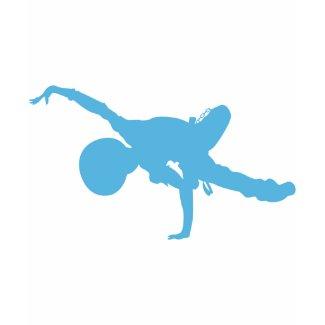 Breakdancer Silhouette T-Shirt shirt