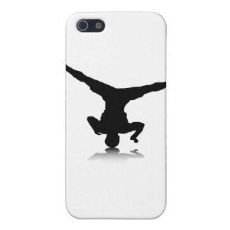 Breakdancer (spin) case for iPhone SE/5/5s