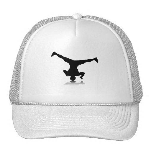 Breakdancer (spin) mesh hats