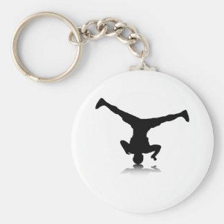 Breakdancer (spin) keychain