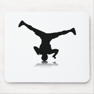 Breakdancer (spin) mouse pad