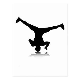 Breakdancer (spin) post card
