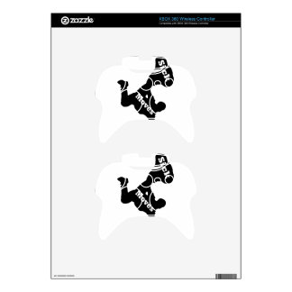 breakdancer xbox 360 controller decal