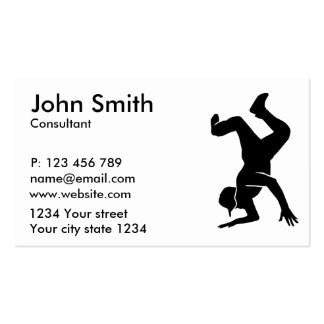 Breakdancing Business Card