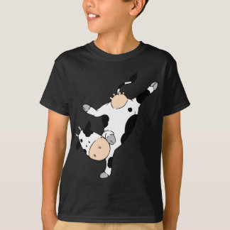 Breakdancing cow (mooviestars) T-Shirt