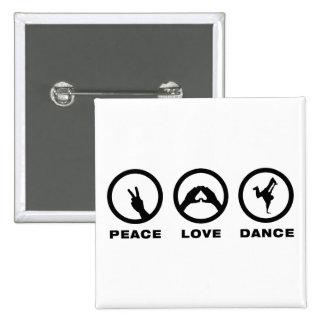 Breakdancing Pinback Button
