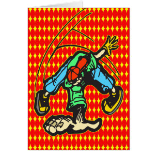 Breakdancing Style Cards
