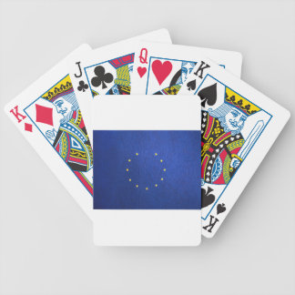 Breakdown Brexit Britain British Economy Eu Euro Bicycle Playing Cards