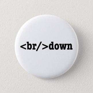 breakdown HTML Code Pinback Button