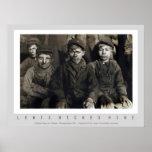 Breaker Boys by Lewis Wickes Hine Poster