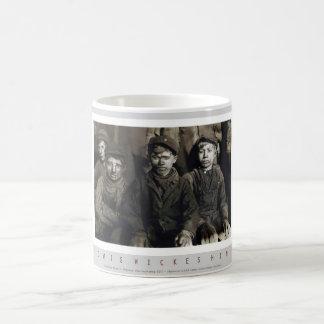 Breaker Boys in Pittston, Pennsylvania Coffee Mugs