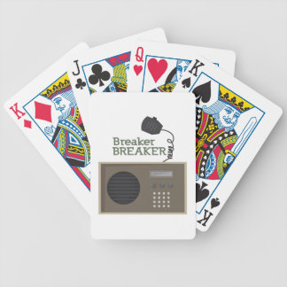Breaker Breaker Bicycle Playing Cards