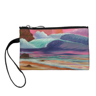 Breakers at Sunset Coin Purse
