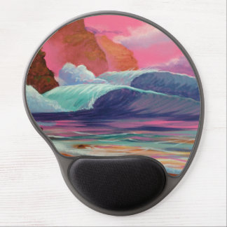 Breakers at Sunset Gel Mouse Pad