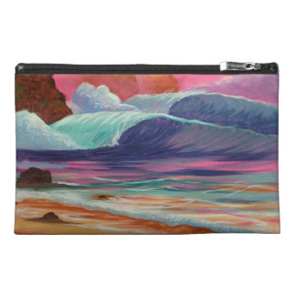 Breakers at Sunset Travel Accessory Bag