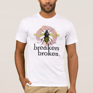 """Breakers Broken-other places to search """"BACK"""" T-Shirt"""